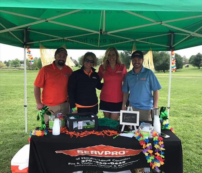 Larue County Chamber of Commerce Golf Scramble Spring 2017